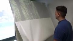 Оклейка витрин, офисных перегородок, окон в СПб